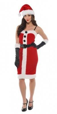 Noel Anne Kostümü, Yetişkin M Parti Kostümleri - Yetişkin Parti Kostümleri Kostümlü Parti, Kıyafet Balosu, Yılbaşı / Yeniyıl Temalı Partiler için ideal kostüm.  Yumuşak kumaştan üretilen bu seksi Noel Anne kostümünün peluş kürk bordürlü, siyah düğmeli ve kemer detaylıdır. Kostüme elbise, noel anne şapkası ve eldivenler dahil, resimde görülen diğer aksesuarlar hariçtir.
