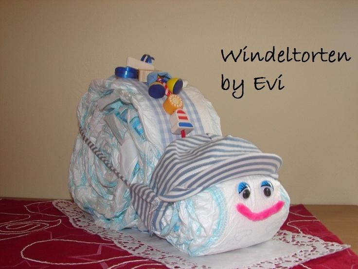 xxl windeltorte baby m dchen kompl outfit jeans oder. Black Bedroom Furniture Sets. Home Design Ideas