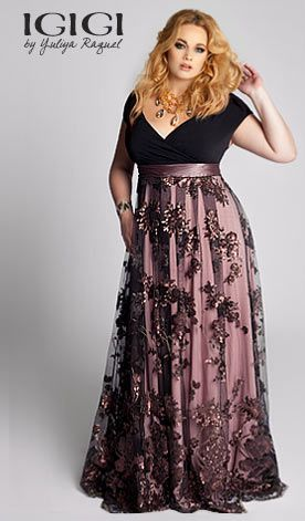 IGIGI Glam Guide - Designer Plus Size Clothing Store - by IGIGI. LOVED this whole site; just wish it wasn't so freakin' expensive!