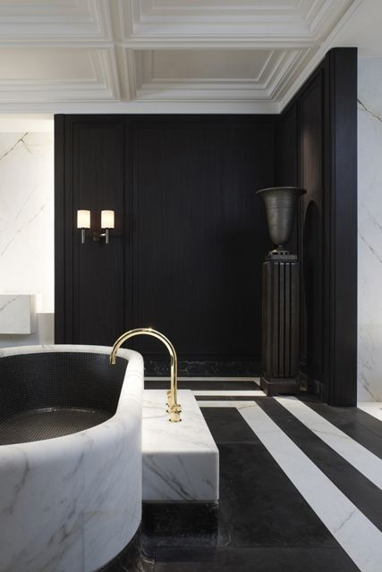 black and white moody upscale luxe