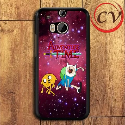 Adventure Time HTC One M8 Black Case