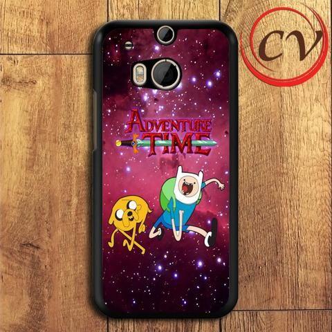 Adventure Time HTC One M8 Mini Black Case