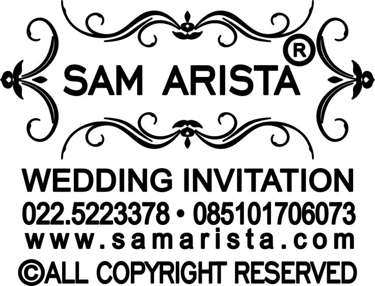 Lowongan Staff Admin ( ADM ) Samarista Wedding Invitation Bandung
