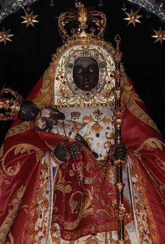 The Candaleria Black Madonna; Black Madonna's are often considered the oldest, rarest & most sacred of Virgin's.