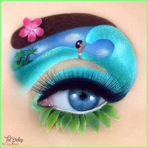 50 Make Up Tal Peleg Is A Makeup Artist From Israel Who Creates Stunning And Unique Eye Ma Disney Eye Makeup Eye Makeup Art Makeup Designs