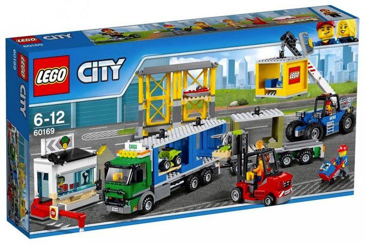 LEGO City 60169 Le terminal à conteneurs Juin 2017