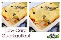 Low Carb Quarkauflauf, das ketogene, cleaner Fitness-Frühstück mit viel Protein! Die gesunde low carb Proteinzufuhr nach oder vor dem Training.
