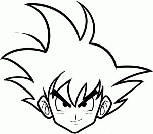 How to Draw Goku Easy
