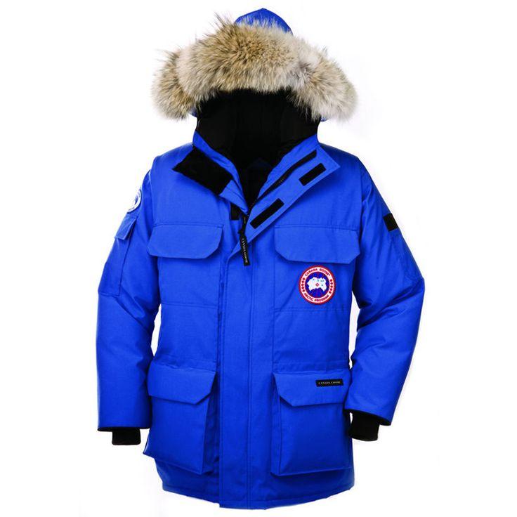 Canada Goose Men's Expedition Parka Coat Blue3