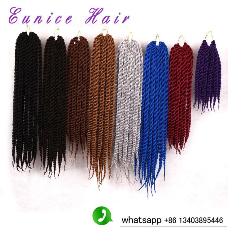 Senegalese Twist Braiding havana mambo Braids for 3PACKS ,120g/pack Synthetic crochet braids Crochet Braiding Hair Extension