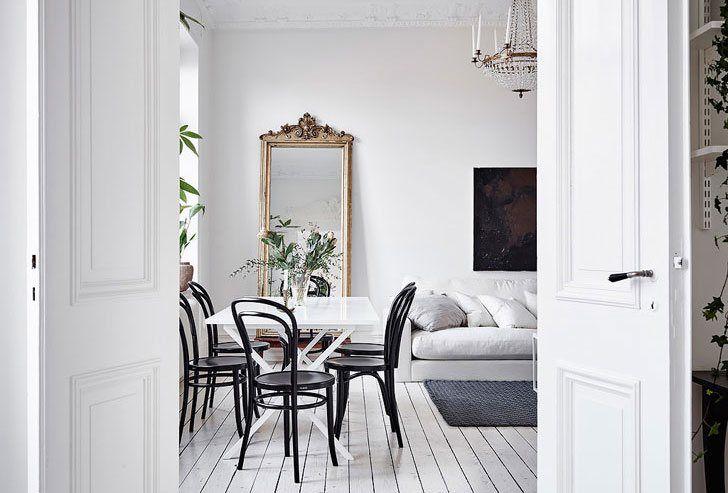 Скандинавский стиль в интерьере - красивые фотографии интерьеров квартир и домов Швеции, Дании, Норвегии. Скандинавский дизайн