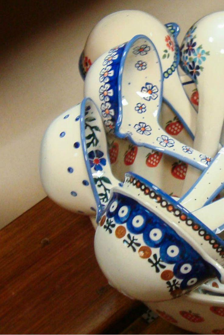 Милые кухонные аксессуры. Pottery Boleslawiec #посударучнойработы #керамикаручнойработы #посуда #ceramics #pottery #polishpottery ceramic tableware | pottery | polish pottery | boleslawiec | посуда | керамическая посуда | польская керамика | польская посуда | болеславская керамика | керамика