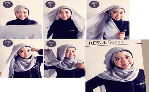 8 Hijab Tutorial Pictures  hijaber tutorials