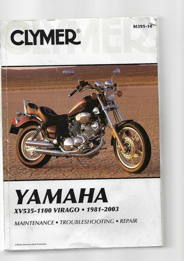 Clymer Yamaha Xv535 1100 Virago Xv700 Xv750 Xv920 Xv1000 Xv1100 Like Haynes Yamaha Clymer Yamaha Ebay