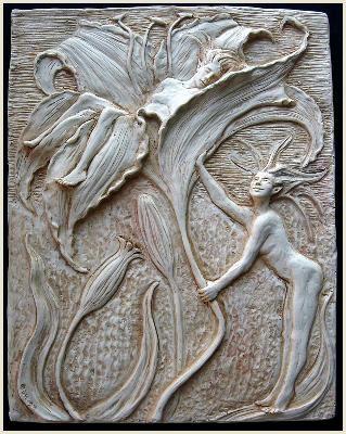 Art Nouveau & 312 best Ceramic Tiles Plaques u0026 Mosaics images on Pinterest | Art ...