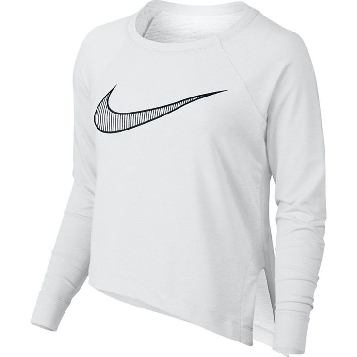 Women's Nike Training Cropped Top, Size: Medium, White