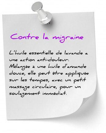 Utiliser les huiles essentielles pour soulager la migraine est possible. Lavande ou menthe poivrée, découvrez nos solutions contre la migraine.