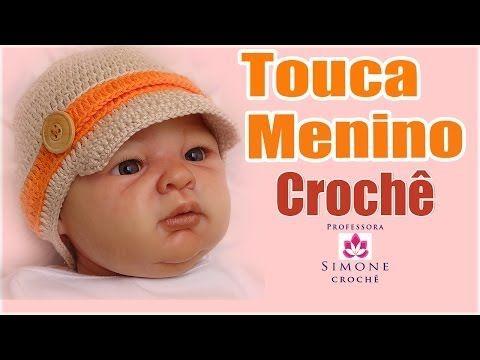 Tutorial: Gorra para bebe tipo adidas de crochet - YouTube