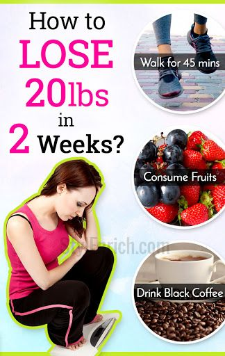 how to lose weight in 2 weeks diet