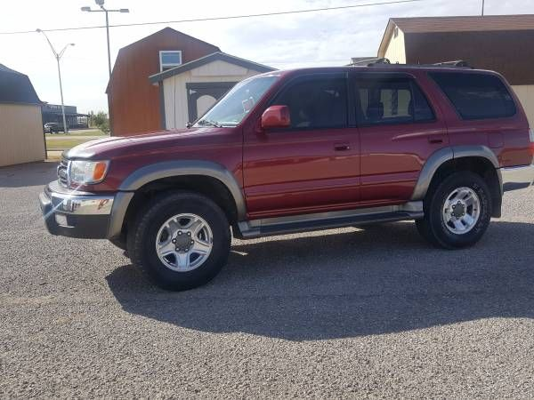 2000 TOYOTA 4RUNNER 2WD 169K (Enid) $5950: < image 1 of 21 > 2000 TOYOTA 4RUNNER condition: excellentcylinders: 6 cylindersdrive: rwdfuel:…