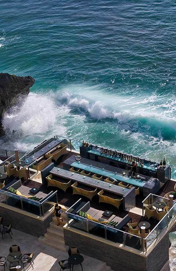 Restaurant with Ocean View, AYANA Resort and Spa Bali