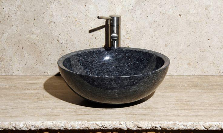 Blue Pearl Granite Vessel Sink