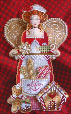 spirit of holiday baking ornament ~ brooke's books publishing; downsunshinelane.com