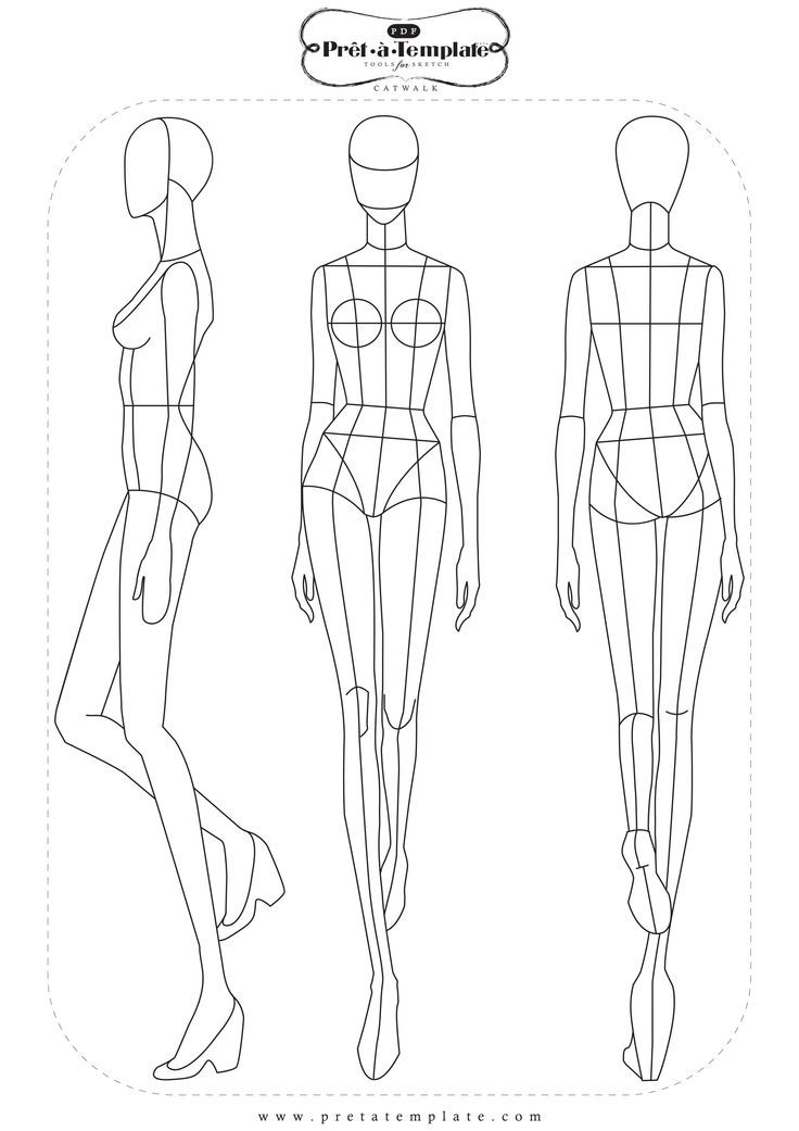738 best fashion cketch images on Pinterest Drawings of, Fashion - fashion designer templates