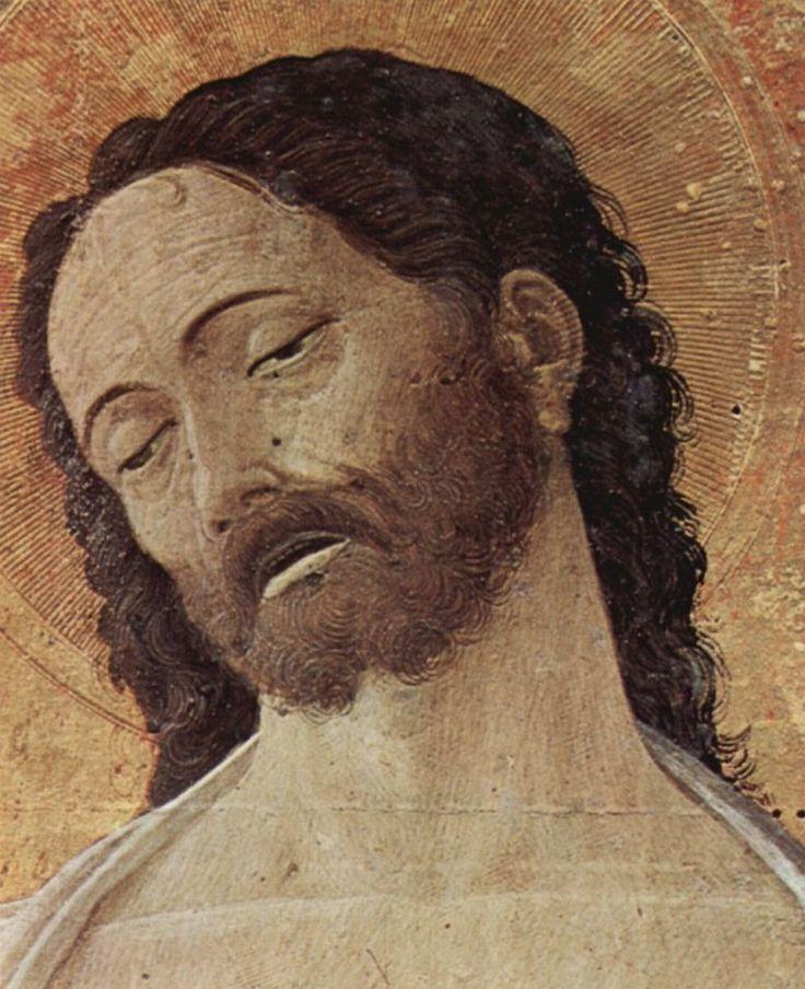 Андреа Мантенья. Алтарь св. Луки, деталь: Христос. 1453 г.
