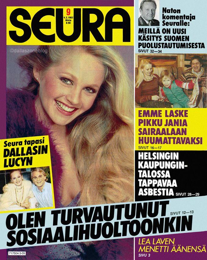 Lovely Lucy (Charlene Tilton) on Seura magazine 1983.