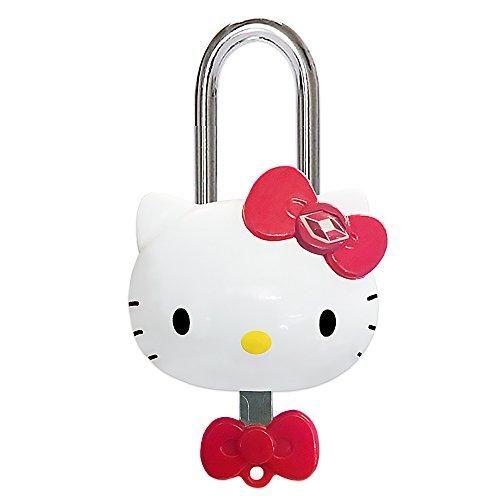 2fee687bde4d Tsa Approved Padlock - Hello Kitty - Girls Tsa Keyed Luggage Lock ...
