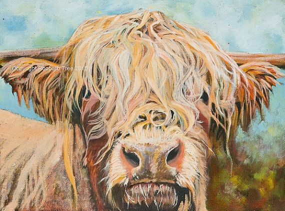 Open edition giclee print of my original oil painting Heather the Highland Cow. The printers I use are members of the Fine Art Trade Guild, and the papers, printers and inks used are all approved by the Guild. You can order in confidence knowing that your print will last a lifetime. PLEASE NOTE This print will be sent to you directly from the printers here in the UK and will take 7 - 10 working days to be dispatched, so please allow two to three weeks for delivery. Canvases may take longer…