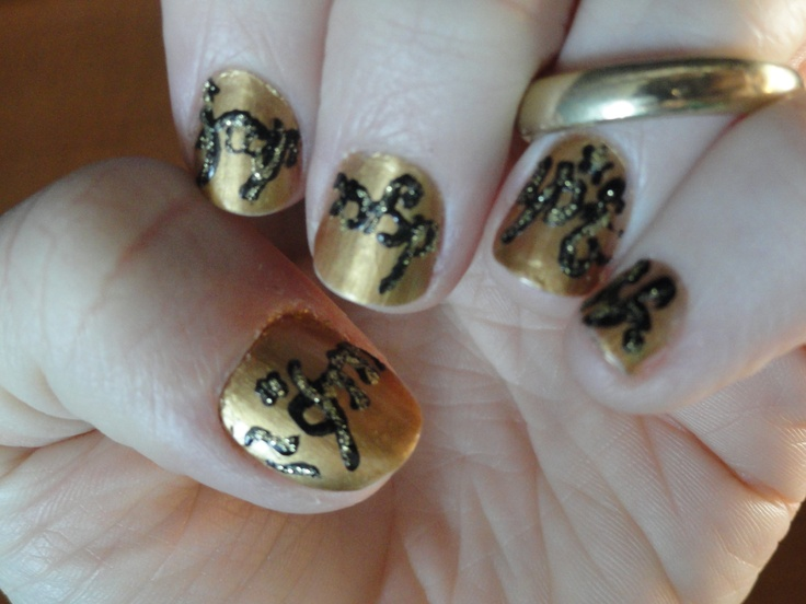 22 best Lord of the rings nail art images on Pinterest | Lord of the ...