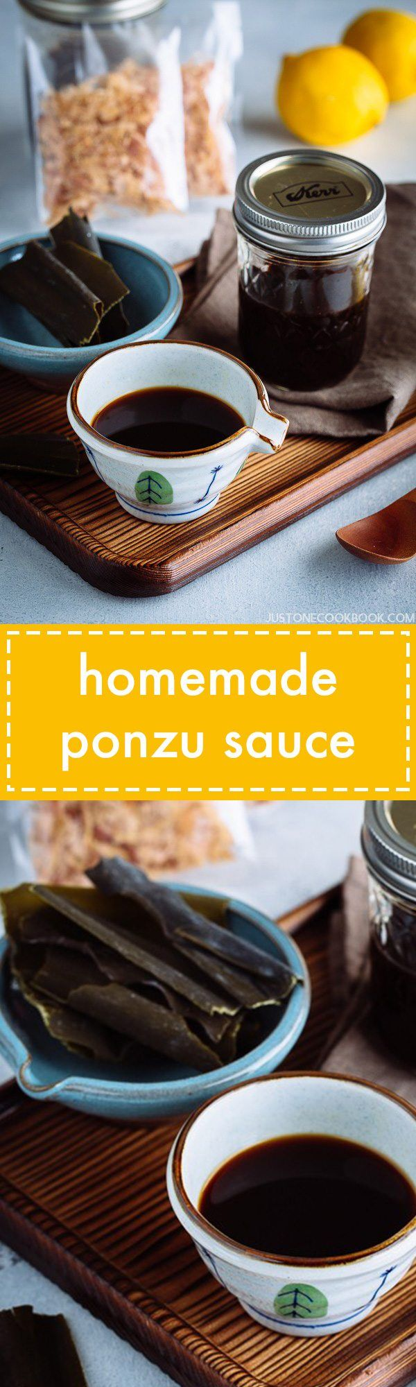 Quick & easy homemade ponzu sauce recipe with just 5 ingredients. Enjoy this versatile sauce with Shabu Shabu, sashimi, grilled meats, salad, and more!