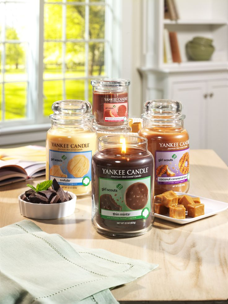 Announcing our Girl Scout Cookies® Candle Collection