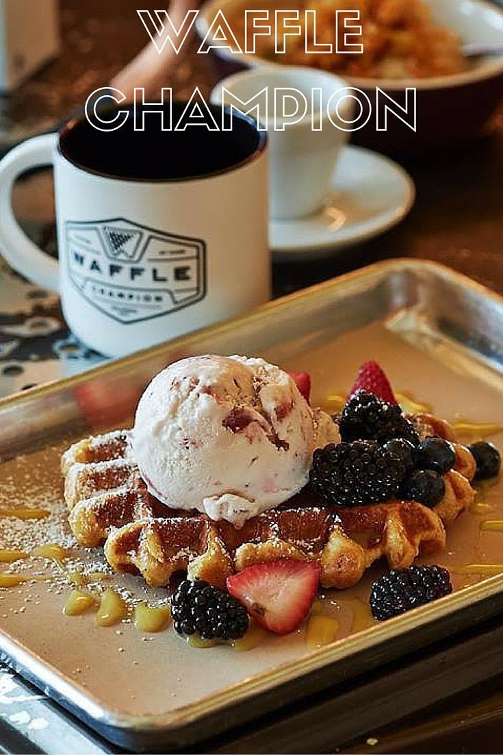 Made-from-scratch waffles that are both sweet and savory make Waffle Champion one of the best brunch spots in Midtown Oklahoma City.