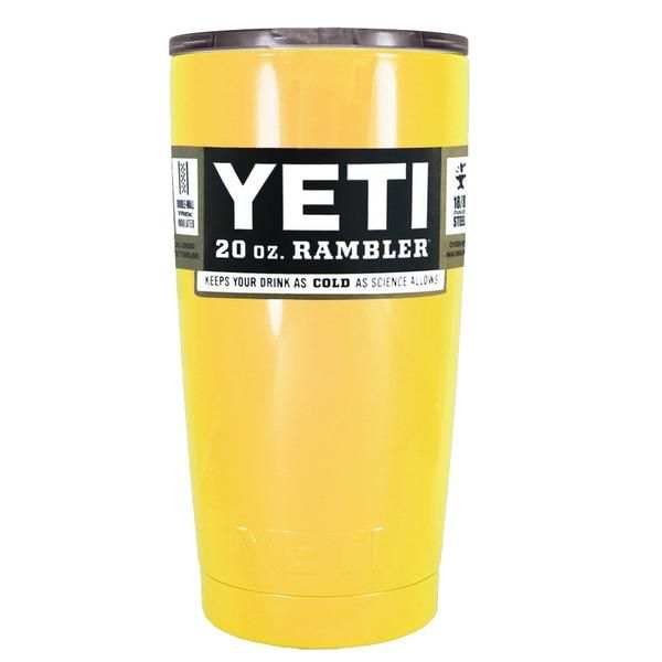 2cbd8d4d648 YETI Yellow Gloss 20 oz Stainless Steel Tumbler in 2019 | Christmas ...