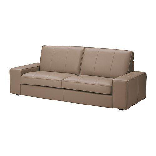 KIVIK 3er-Sofa - Grann/Bomstad beige - IKEA