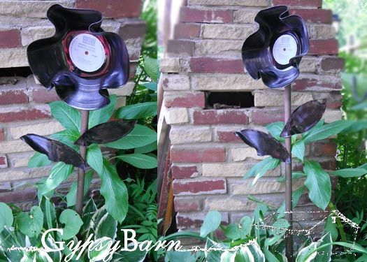 17 best images about making things from vinyl records on for Things to make with old records