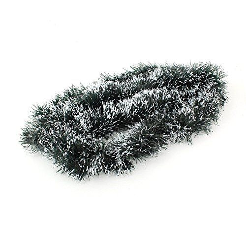 Funnytoday365 2M65FtFake Snowy Fir Pine Christmas Tinsel Christmas Tree Decoration Green >>> This is an Amazon Affiliate link. For more information, visit image link.