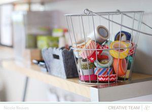 Art Studio organization workspace wednesday | Nicole Reaves at @StudioCalico