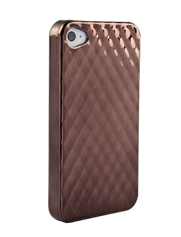 Eiroo Brown Case For iPhone 4/ 4S