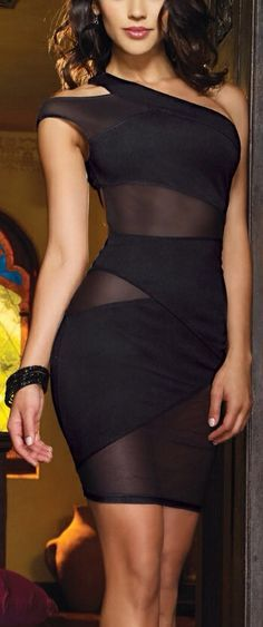 """It's the """"little black dress"""" revamped! Vibe Bodycon"""