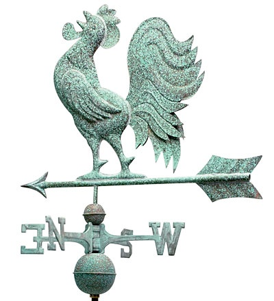 Weathervanes >> crowing rooster | Weathervanes | Pinterest | Traditional ...