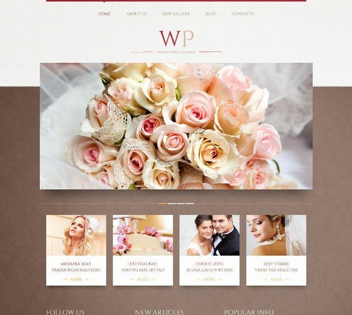 Best WordPress Wedding Themes.