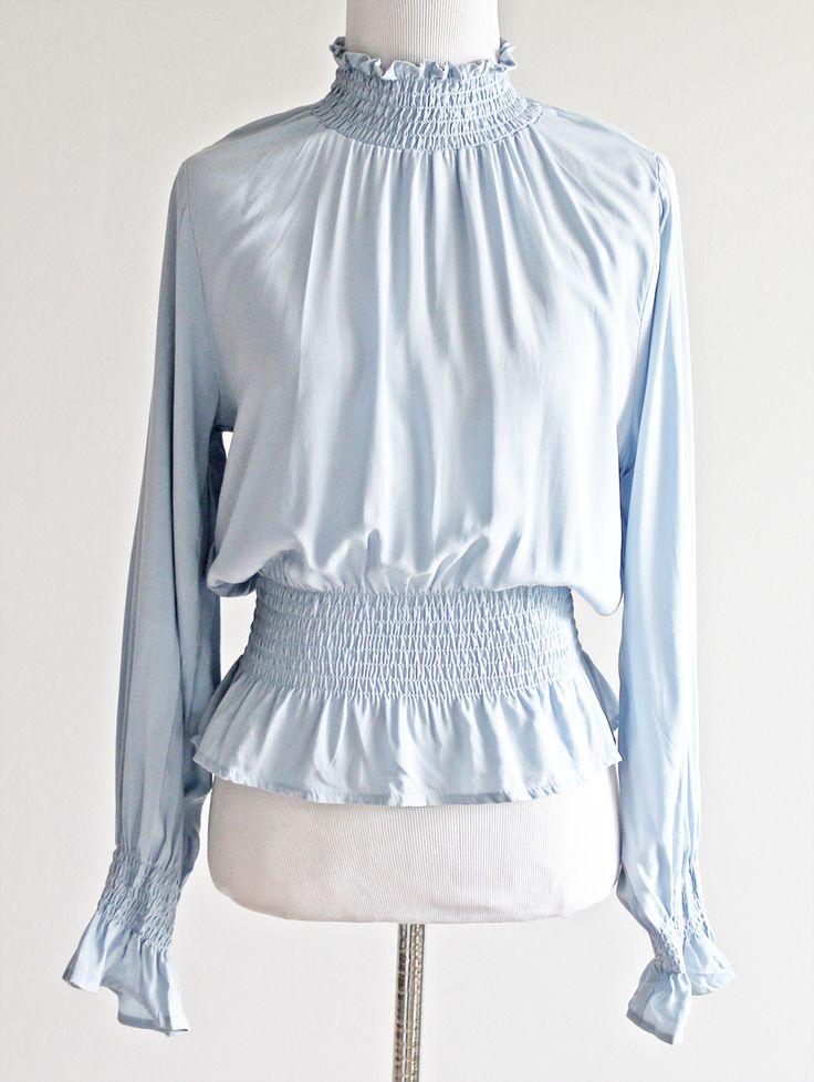 Tautmun - AEGIN SMOCK TOP - SOFT BLUE, $18.99 (http://www.tautmun.com/aegin-smock-top-soft-blue/)