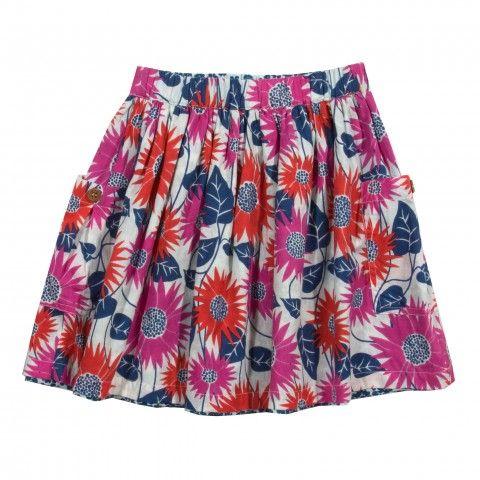 organic cotton skirt daisy