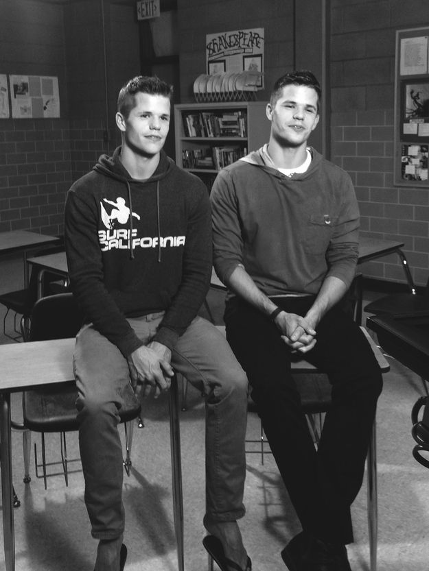 And they're definitely the hottest twins on television right now, hands down. | Max And Charlie Carver Are Basically The Hottest Twins On TV