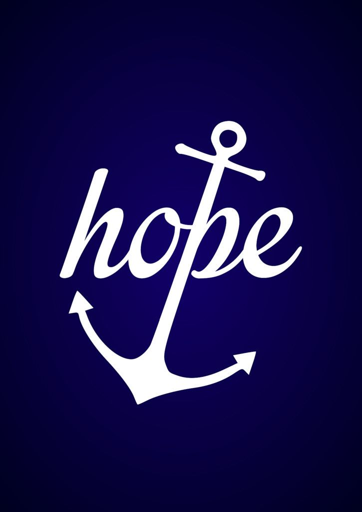 Hebrews 6:19 - Hope in Jesus anchors the soul.