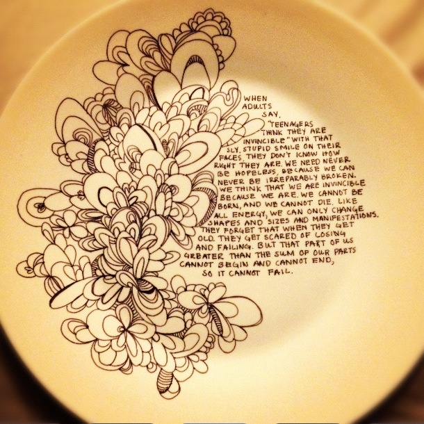 plate from the dollar store decorated with sharpie then put it in the over at 350 for 15 mins to set the ink.  sc 1 st  Pinterest & 13 best sharpie plates images on Pinterest | Sharpie plates ...